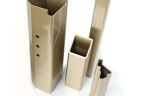Peças – tubos quadrados e formatos especiais