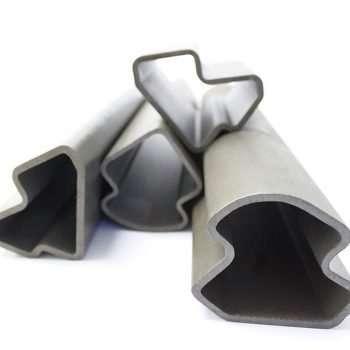 Tubos de aço em formatos especiais - Tubos seta - Aplicação estrutura de cabines de equipamentos agrícolas
