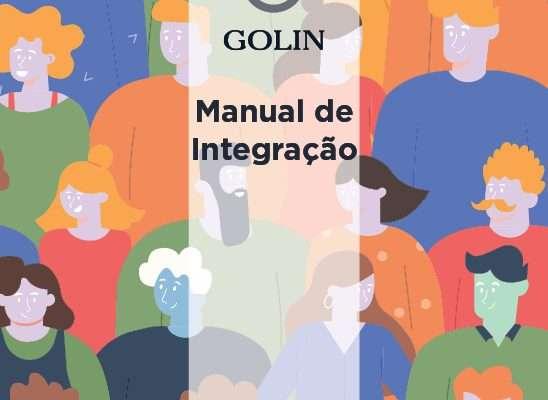 Capa Manual de Integração Colaborador Golin - rev2021