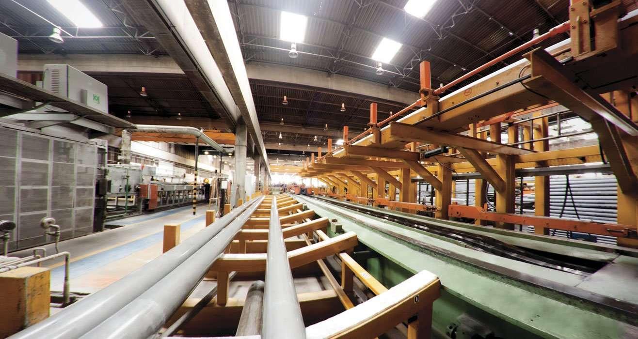 trefiladora de tubos Golin